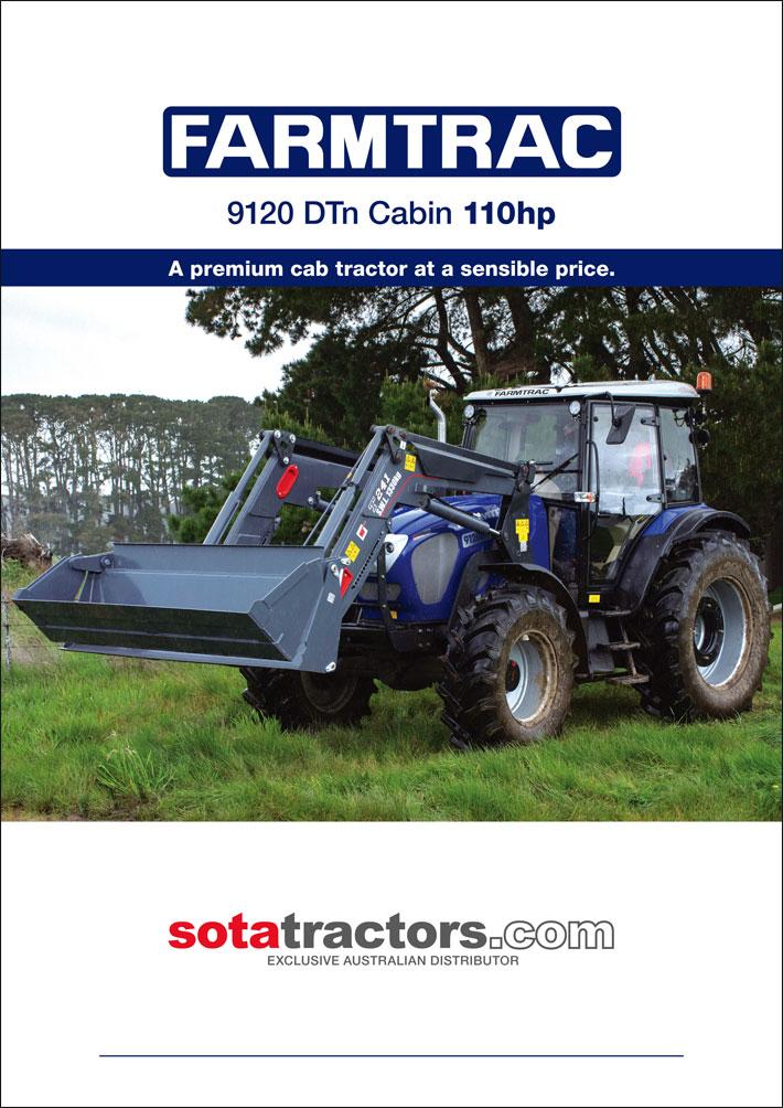 © Suzanne Day 2017 / Sota Tractors / Farmtrac Brochure